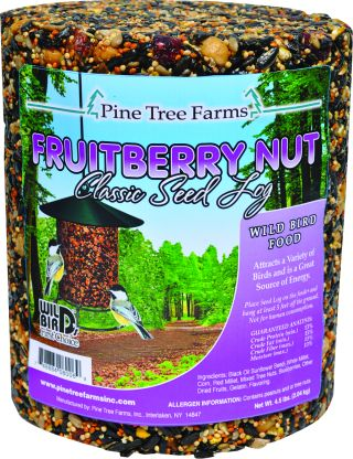fruitberry nut seed log
