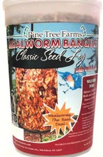 mealworm banquet seed log
