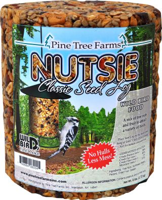 Nutsie seed log large