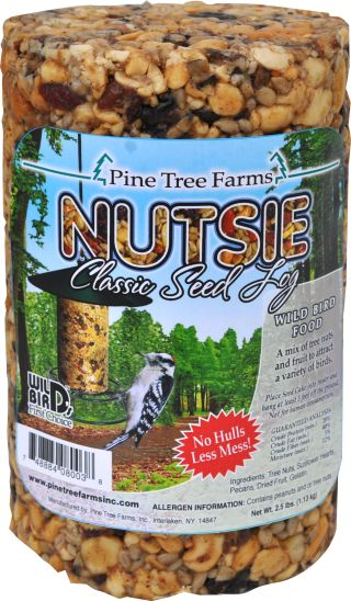 Nutsie seed log small