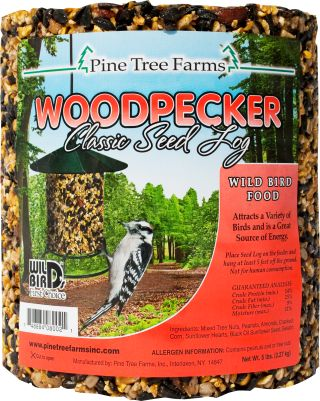 woodpecker seed log large