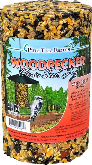 woodpecker seed log small